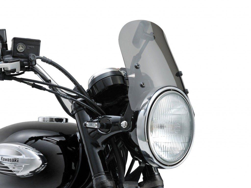 Motorad mit dem Ausgezeichneten Blinker D-Light