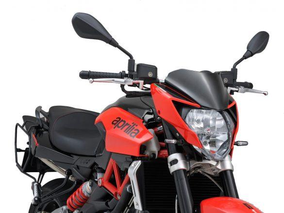 Motorad mit dem Blinker D-Light