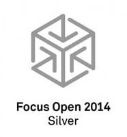 Logo Focus Opne Silver 2014