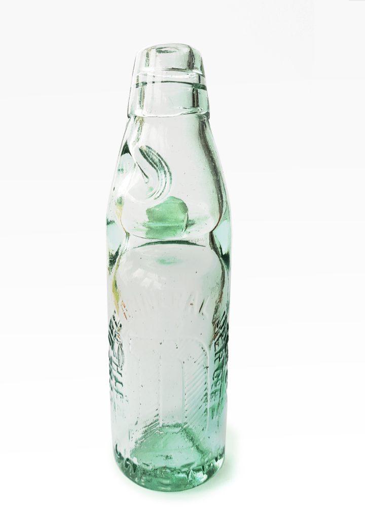 Codd Bottle- Glasflasche mit Murmelverschluss