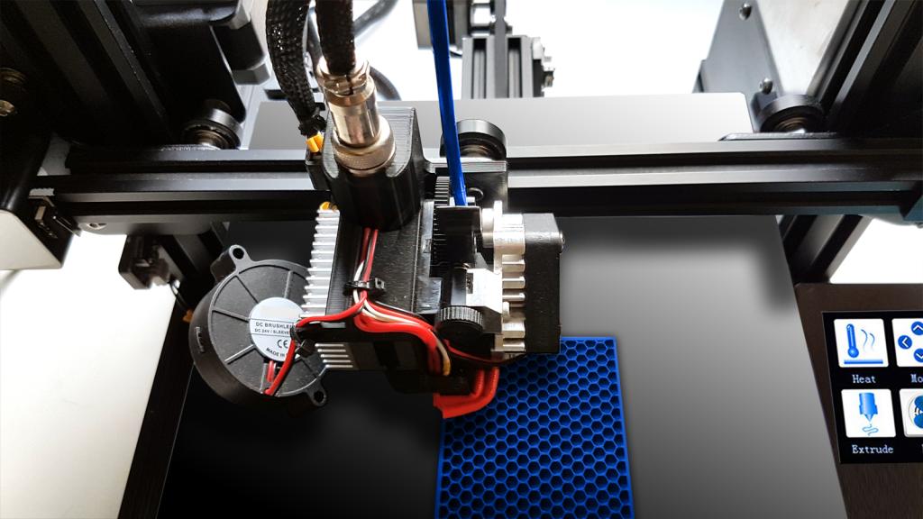 3D-Drucker beim Druck