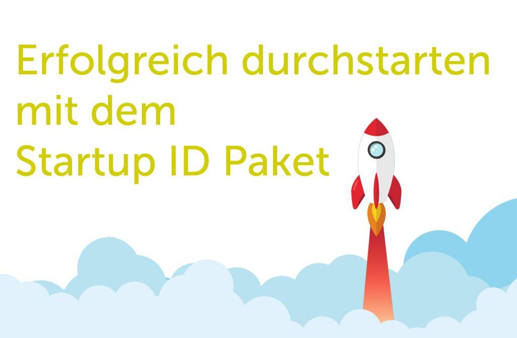 Erfolgreich durchstarten mit dem Startup ID Paket